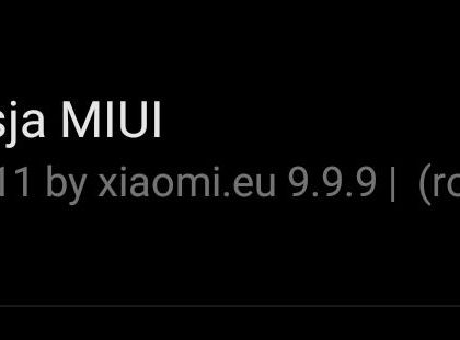 MIUI 11 po polsku od xiaomi.eu