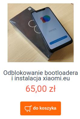 Odblokowanie bootloadera i instalacja xiaomi.eu