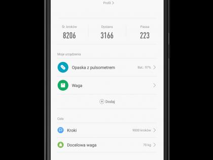 MiFit 2.0 z Google Play po polsku!