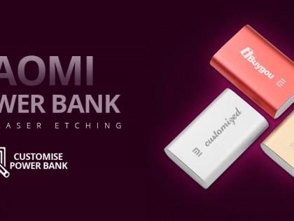 Power Banki Xiaomi z własnymi napisami od iBuyGou