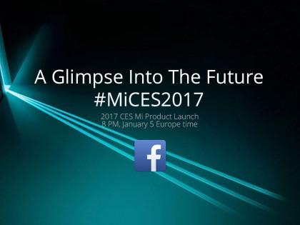 Xiaomi live z CES 2017