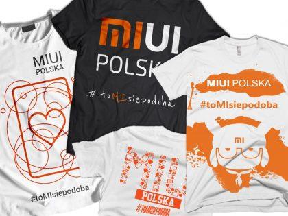 Wybraliśmy cztery projekty koszulek MIUI Polska #toMIsiepodoba