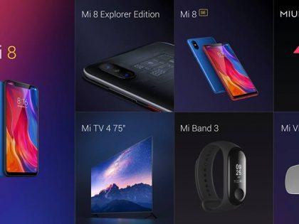 MIUI 10, Mi 8, Mi Band 3. Dzień nowości od Xiaomi