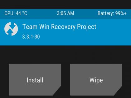 TWRP dla Redmi K20 Pro pod Androida Q