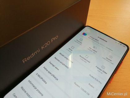 Instalacja Xiaomi.eu na Redmi K20 PRO / Mi 9T Pro