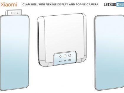 Xiaomi patentuje składany telefon