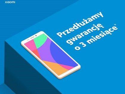 Xiaomi – przedłużona gwarancja na telefony