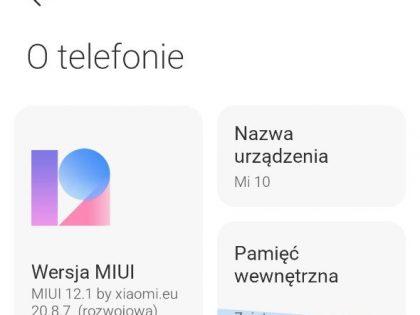 Aktualizacja do Androida 11 od xiaomi.eu dla Mi 10, Mi 10 Pro i Redmi K30 Pro