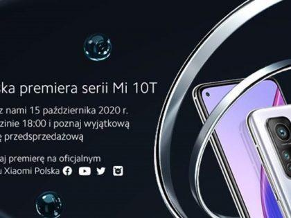 Xiaomi – polska premiera serii Mi 10T