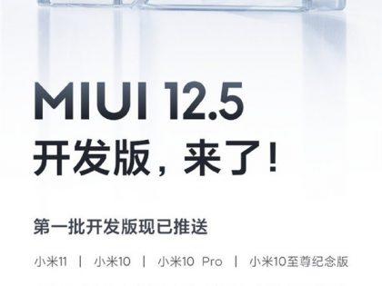 MIUI 12.5. Znamy listę telefonów