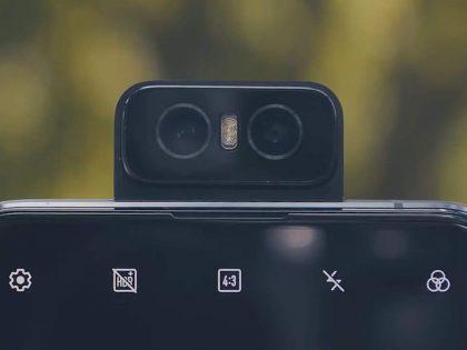 Xiaomi z aparatem typu Flip-Up