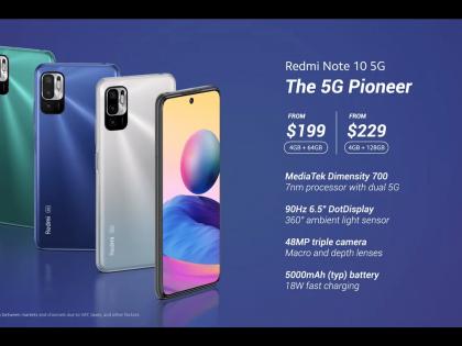 Inny, ale jednak ten sam, czyli rebrand Redmi Note 10 5G