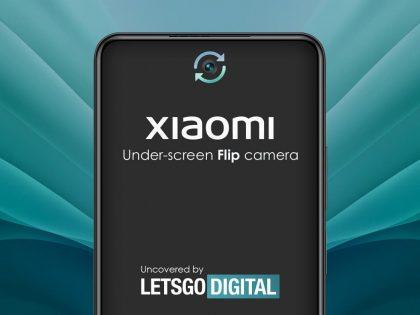 Xiaomi patentuje obrotowy aparat