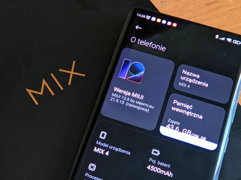 Jak zainstalować Xiaomi.eu na MI MIX 4?
