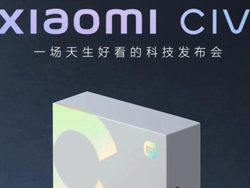 Seria Xiaomi Civi zadebiutuje w przyszłym tygodniu