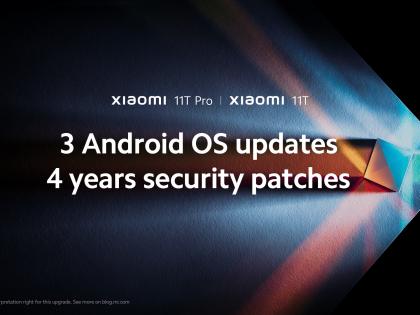 Xiaomi zaoferuje cztery lata aktualizacji dla nadchodzącej serii Xiaomi 11T